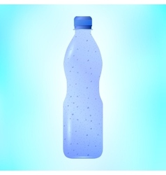 Sparkling mineral water vector
