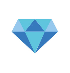 Full color beauty luxury diamond gen accessory vector