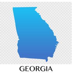 Georgia map in europe continent design vector