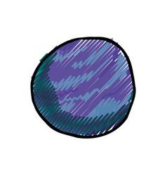 jupiter planet cartoon vector image vector image