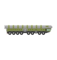 Military rocket launcher vector