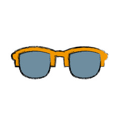 sunglasses fashion accesory vector image vector image
