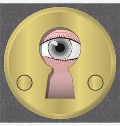 Surveillance vector image vector image