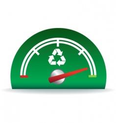 recycle fuel vector image