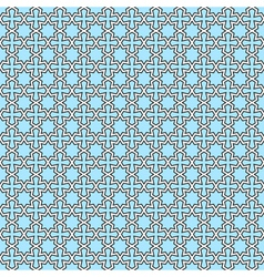 Seamless geometric oriental pattern vector