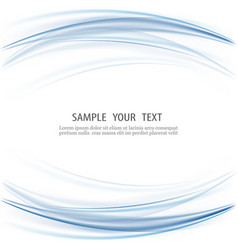 Abstract blue business technology background vector