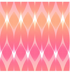 Abstract pattern in pink and orange colors vector