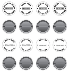 Badges sale label vector