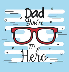 Best dad icon vector