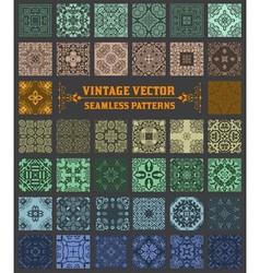 000 retrosetbaroque vector image