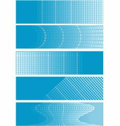 Checker banners vector