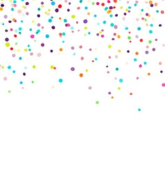 Confetti vector image