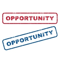 Opportunity rubber stamps vector