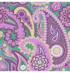 Paisley Colorful Background vector image vector image