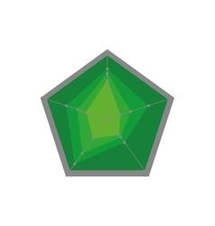 Pentagon icon shape design graphic vector