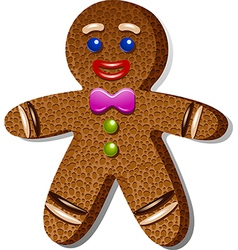 Gingerbreadman vector