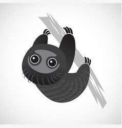 sloth cute vector image