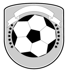 Soccer logo football team vector