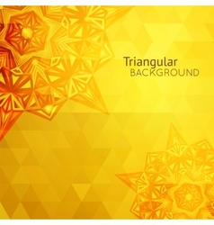 Gold business background vector image