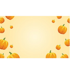 Happy thanksgiving pumpkin style background vector