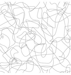 smooth crossed lines seamless pattern vector image
