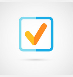 yes check mark vector image