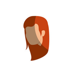 Young businesswoman avatar character vector