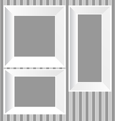 White frames background vector
