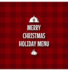 christmas special menu design vector image