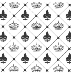 Crown kink background vector