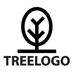 line icon of tree vector image vector image