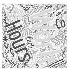 Whatever you do don t quit your job word cloud vector
