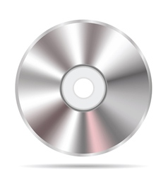 Compact disc icon vector