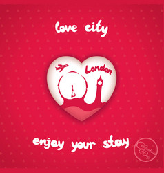 City of love vector
