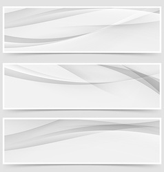 Halftone grey abstract line header layout vector
