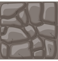 Brown stone background vector