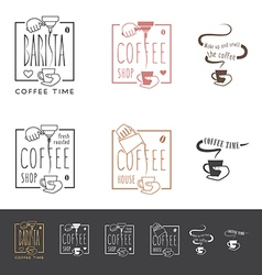 Coffee shop icon vector