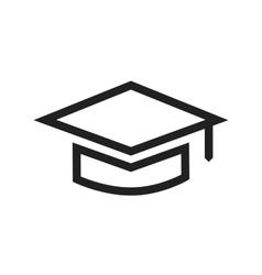 Graduate cap ii vector