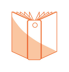 Isolated documents folder vector