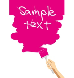 Brush001 vector image vector image