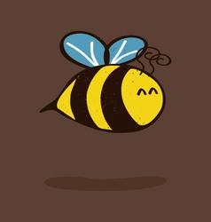 Little bee vector image vector image