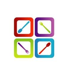 Logo for a restaurant or cafe vector