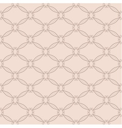 Retro net seamless pattern vector image