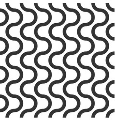 wavy seamless pattern geometric abstract vector image