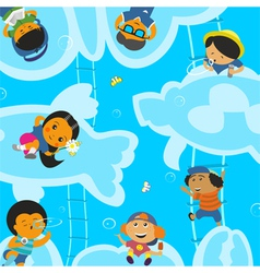 Children holiday vector