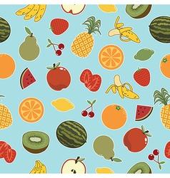 fruit patterns vector image