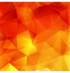 Abstract autumn geometric shapes plus eps10 vector
