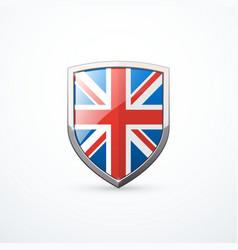 england shield icon vector image