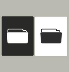 folder - icon vector image