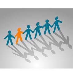 paper community vector image